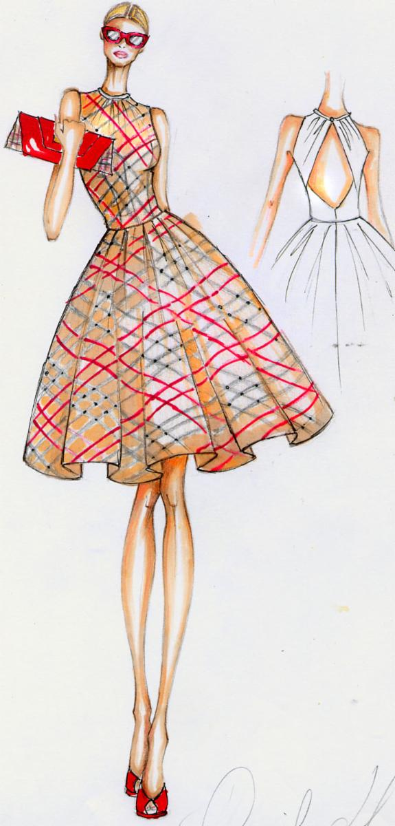 My Portfolio Sketches Daniela Laface Fashion Designer